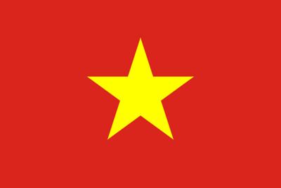 Flag of Vietnam - May 12, 2018