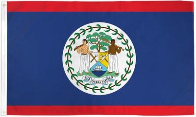Belize Flag - October 1, 2018