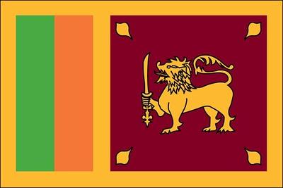 Flag of Sri Lanka - June 6, 2018