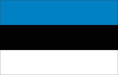 Flag of Estonia - September 22, 2018