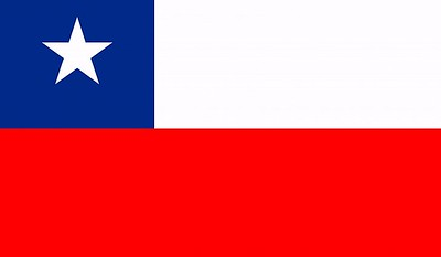 Flag of Chile - July 20, 2018