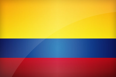 Flag of Colombia - June 16, 2018