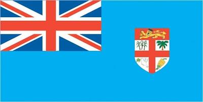 Flag of the Kingdom of Fiji - September 20, 2018
