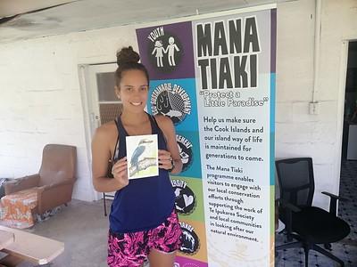 Cook Islands - Alanna Smith, Te Ipukarea Society, Rarotonga, Cook Islands, jan 12, 2019.I