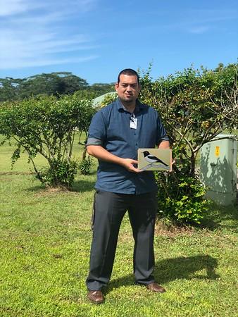 Micronesia - Shaun Suliol, Yap Monarch -  Kolonia Pohnpei, Micronesia, nov 29, 2018.