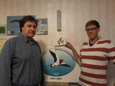 Estonia - Barn Swallow, Adopted Riho Kinks, Tartu, Estonia, sep 22, 2018, rec'd oct 2, 2018.