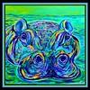 1-Hippo, 12x12, acrylic on canvas, nov 3, 2017 DSCN01091