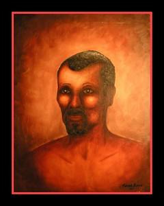 1967 Negro, 1967, oil, 20x26