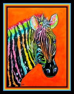 1-Zebra, 12x16, ink & watercolor, sep 25, 2017 DSCN99821