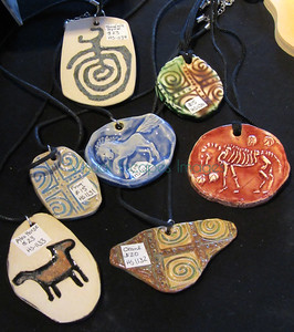 flipsides of previous pendants (they are the same, just the reverse side)