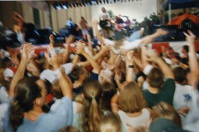 Mosh pit, City Stages, Birmingham, Alabama 1987)