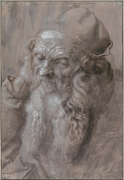 Albrecht_Dürer_-_Head_of_an_Old_Man,_1521_-_Google_Art_Project