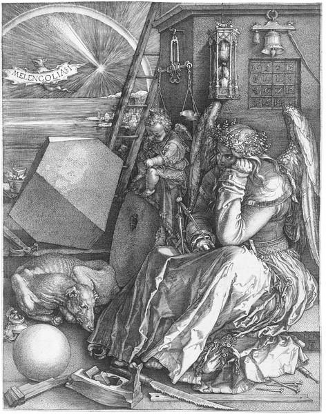Melancholia  24 x 18.8 cm 1514