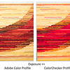 Compare profiles, brown-red ++