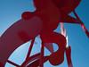 "a12 Alexander Liberman, ""Aria"", Painted Steel, 1979-1983.<br /> <br /> Frederik Meijer Gardens and Sculpture Park,<br /> Grand Rapids, Michigan,<br /> October 7, 2010"