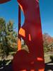 "a10 Alexander Liberman, ""Aria"", Painted Steel, 1979-1983.<br /> <br /> Frederik Meijer Gardens and Sculpture Park,<br /> Grand Rapids, Michigan,<br /> October 7, 2010"