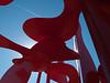 "a18 Alexander Liberman, ""Aria"", Painted Steel, 1979-1983.<br /> <br /> Frederik Meijer Gardens and Sculpture Park,<br /> Grand Rapids, Michigan,<br /> October 7, 2010"
