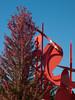 "a05 Alexander Liberman, ""Aria"", Painted Steel, 1979-1983.<br /> <br /> Frederik Meijer Gardens and Sculpture Park,<br /> Grand Rapids, Michigan,<br /> October 7, 2010"