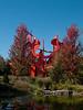 "a04 Alexander Liberman, ""Aria"", Painted Steel, 1979-1983.<br /> <br /> Frederik Meijer Gardens and Sculpture Park,<br /> Grand Rapids, Michigan,<br /> October 7, 2010"