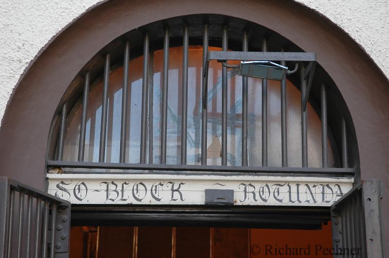 South Block entrance