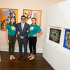 """All We Art is a new art gallery located in Georgetown's Book Hill Park at 1666 33rd St NW.  On Thursday, June 26th, they hosted a private opening of """"Tierra de Gracia, Land of Grace"""" featuring Venezuelan contemporary art. Photo by Ben Droz."""