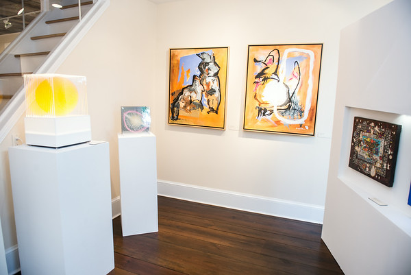 All We Art Gallery Opens in Georgetown. Photo by Ben Droz