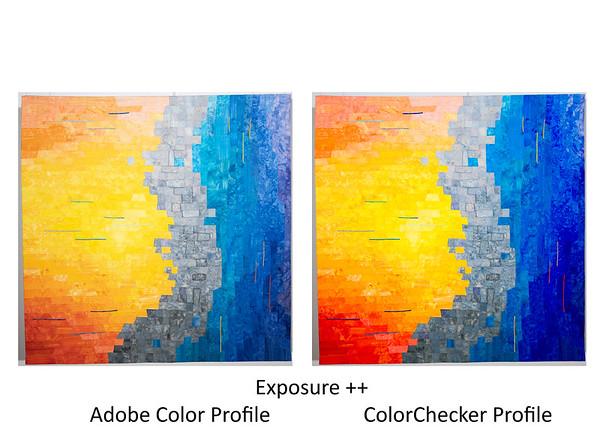 Compare profiles, wall ++