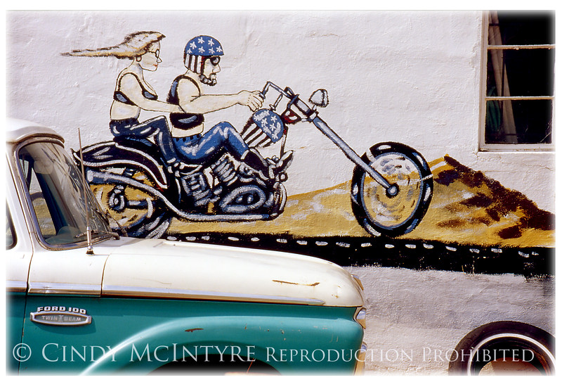 Biker Mural McLean TX copy