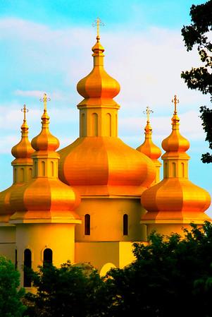 St. Michael Catholic Ukrainian Church in Baltimore, MD  on Eastern Ave