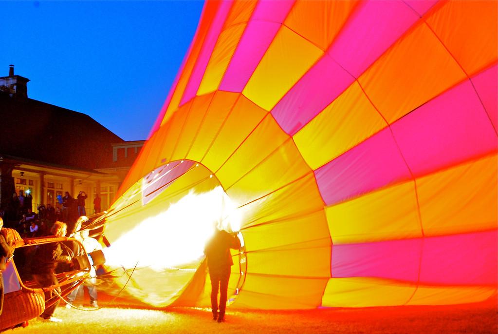 Ballon Festival Lake Sterling, Georgia <br /> October 20, 2012