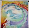 """Beloved"" © Anna Lisa Yoder c. 1992. Batik painted dye process on muslin"
