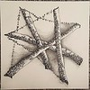 Zentangle Star -  © Anna Lisa Yoder 2017 (original size 6 x 6 in.)