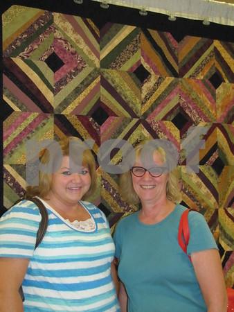 Sally Kiecker and Mary Vollmer