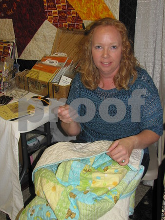 Debbie May of 'Debbie's Quilt Shop & Gifts' in Osage.