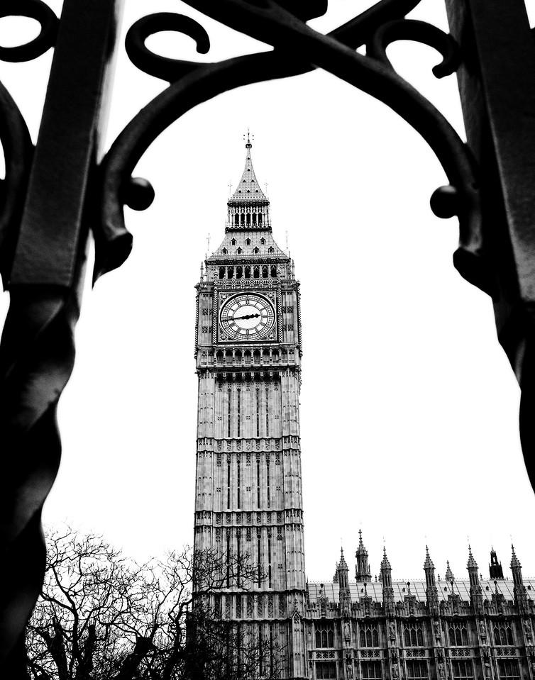 Big Ben London, UK<br /> February 2012
