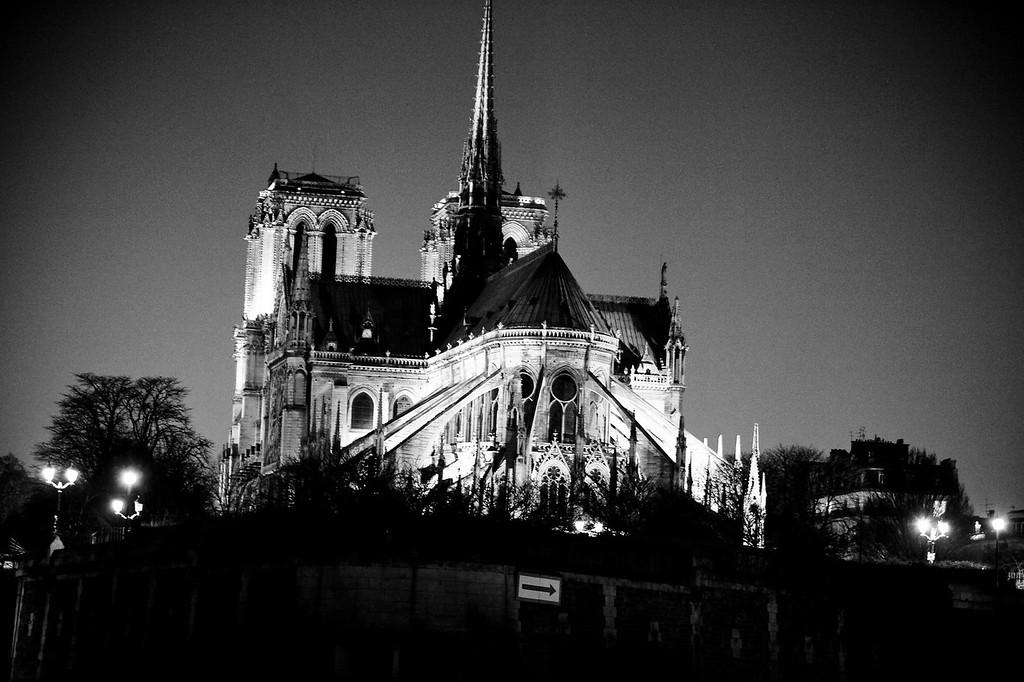 Notre Dame de Paris<br /> March 2012<br /> Canon 5D MkII 70-200F2.8L
