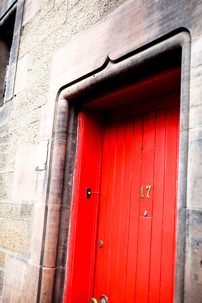 Red Door #2<br /> Edinburgh, Scotland April 2012