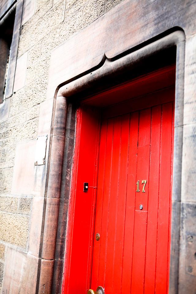 Red Door #2<br /> Edinburgh, Scotland April 2012