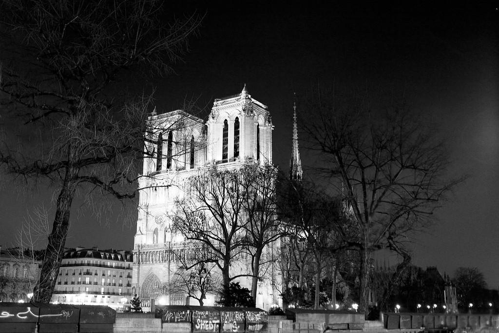 Notre Dame de Paris<br /> February 2012<br /> Canon 5D MkII 24-70F2.8L