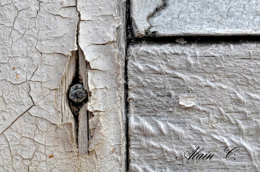 The old window nail