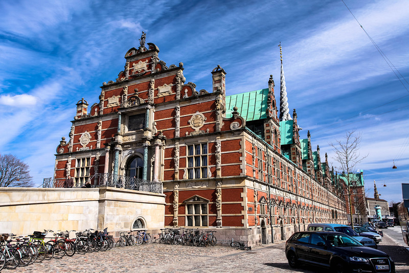 World's first stock exchange, Copenhagen, DE