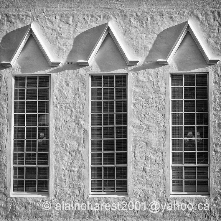 Trio de fenêtres