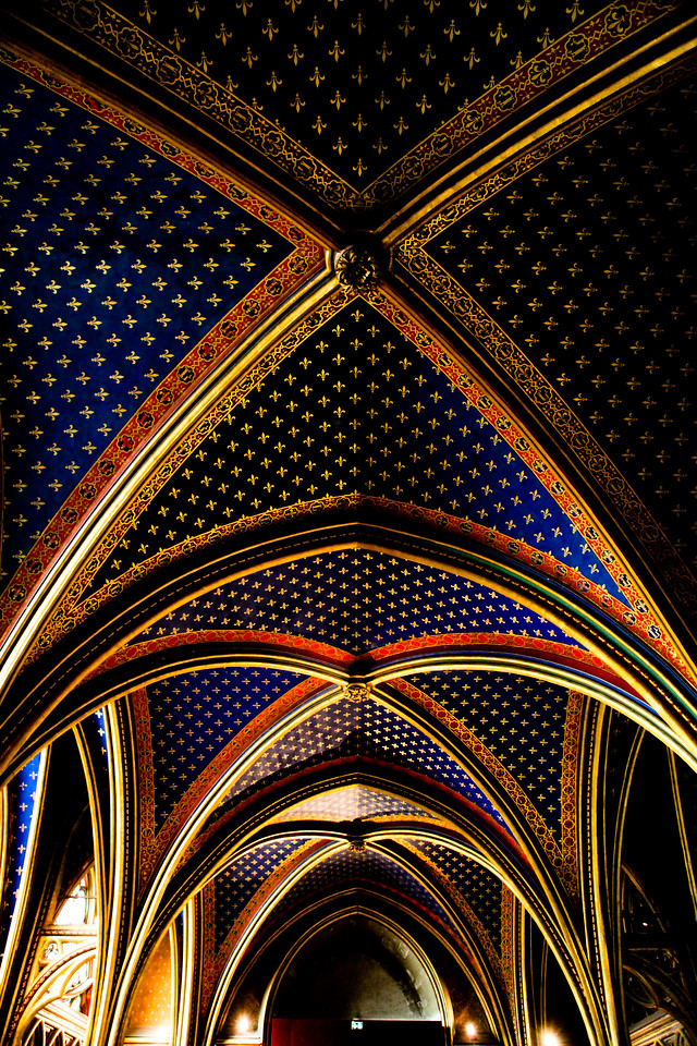 St Chappelle Paris, France<br /> March 2012<br /> Canon 5D MkII 24-70F2.8L