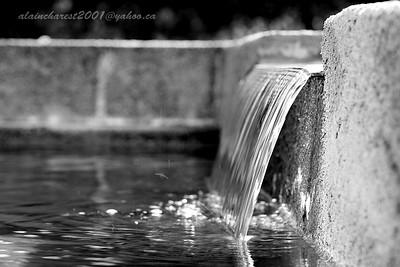 La cascade de la fontaine