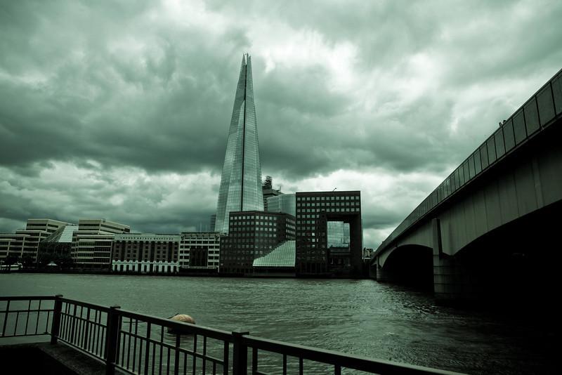 The Shard<br /> London UK June 2013<br /> Canon 5DMkII + 24-70 2.8L