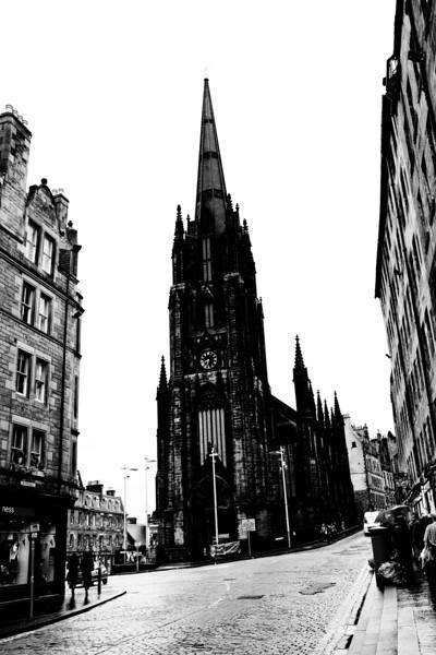 Royal Mile<br /> Edinburgh, Scotland April 2012