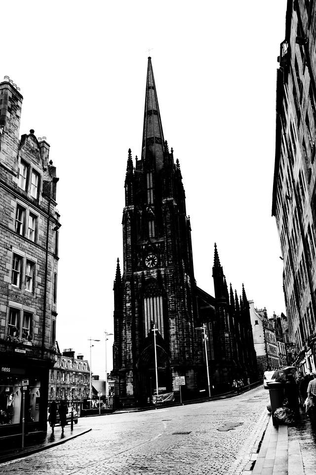 Royal Mile<br /> Edinburgh, Scotland April 2012
