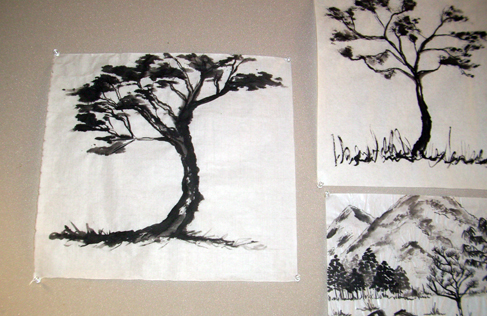 Chinese Brush Painting Offered Summers