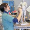 Sculpture class offered each semester.