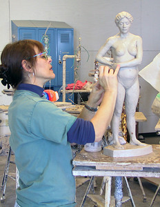 Sculpture class offered each semester.